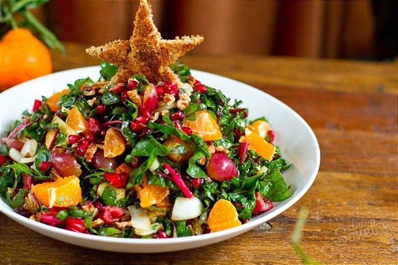 Блюда к новогоднему столу диетические