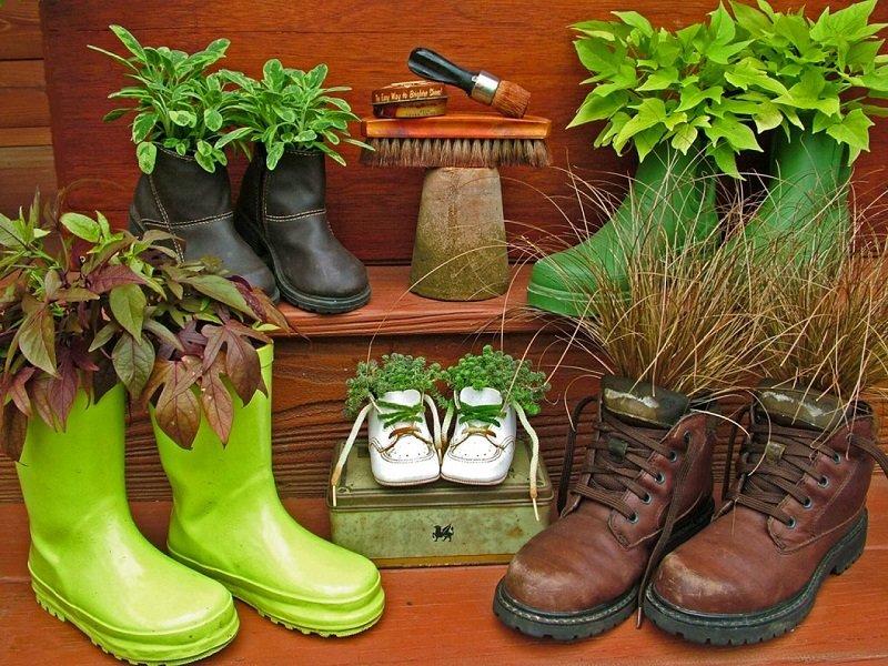 Обуви своими руками на даче 377