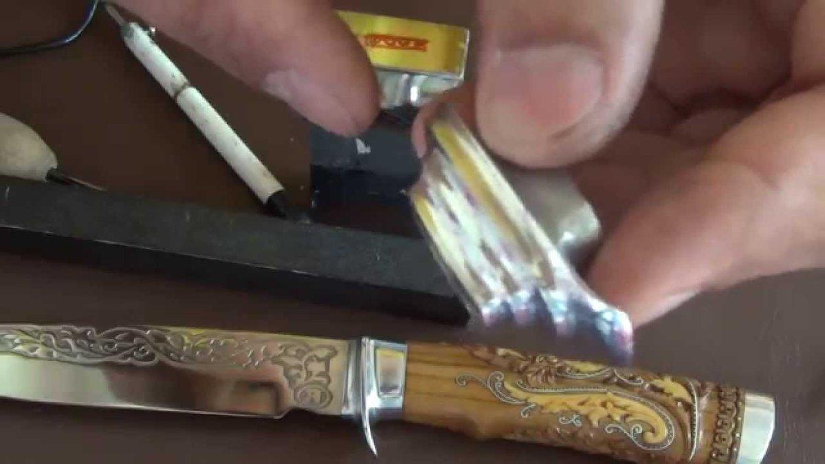 Нож из стекла своими руками 290