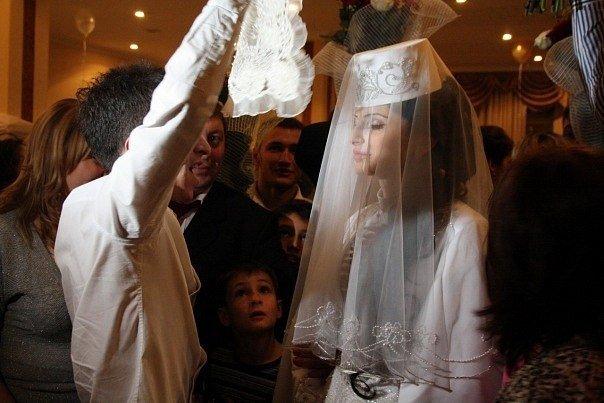 Фото свадебного платья в осетии