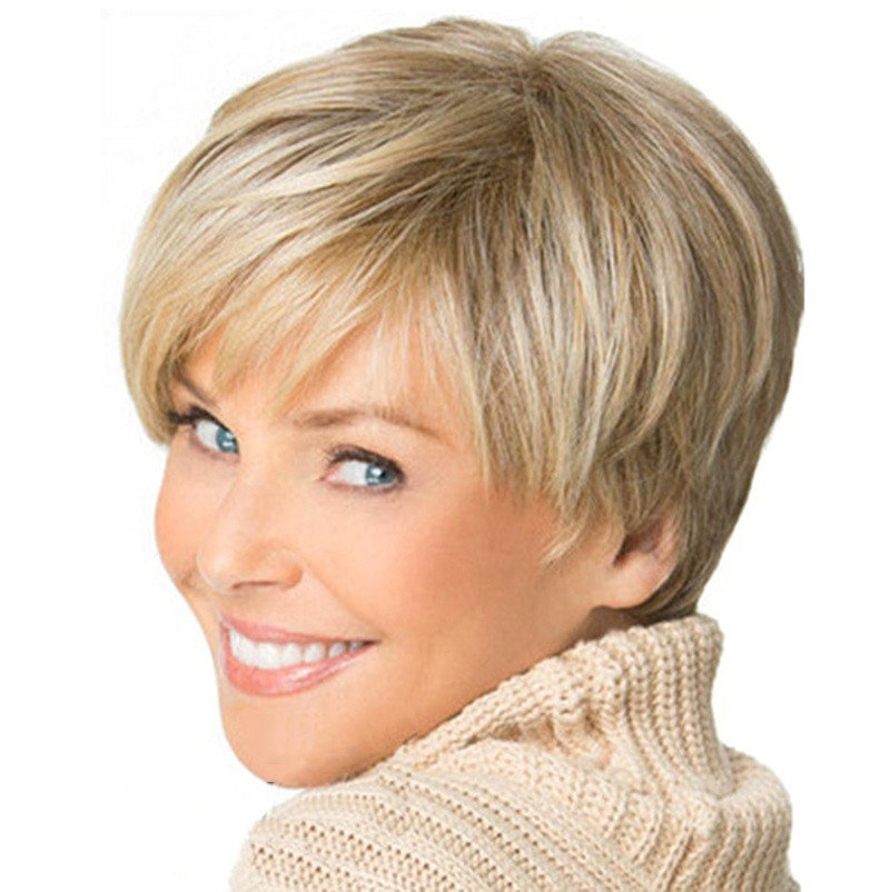 Прическа на короткие волосы 35