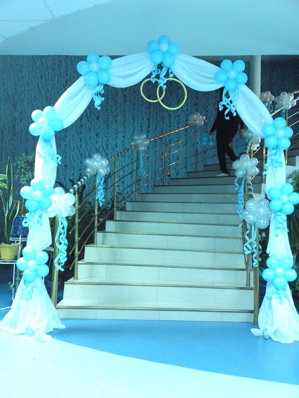Как сделать арку для свадьбы из шаров своими руками 22
