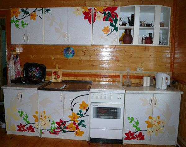 Как переделать кухонный гарнитур своими руками фото
