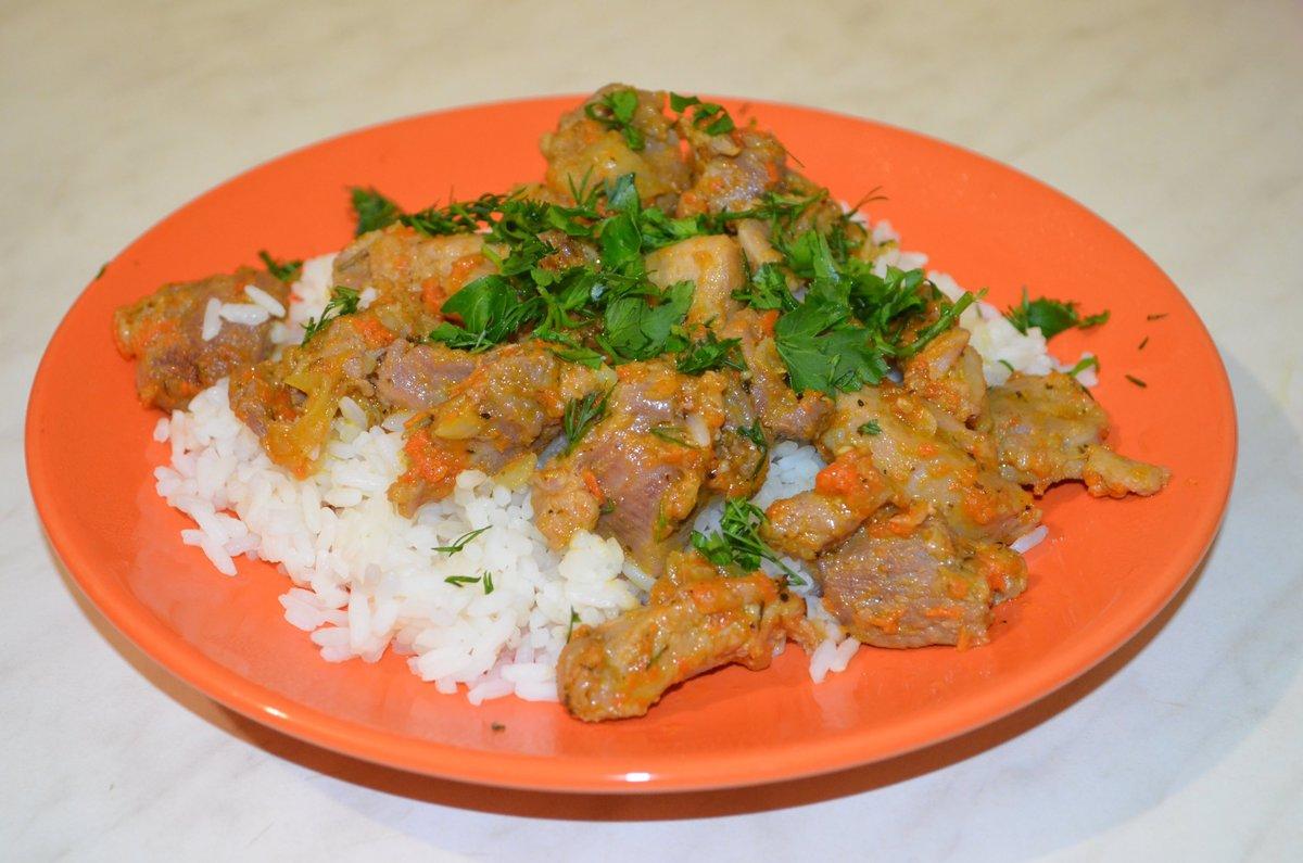 Жаркое из мяса индейки рецепты с фото