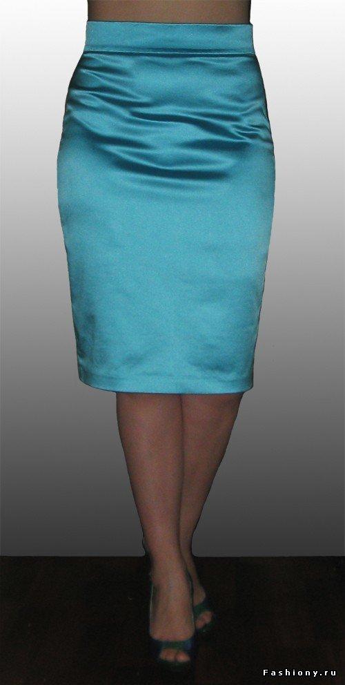 Стрейчевая юбка карандаш сшить