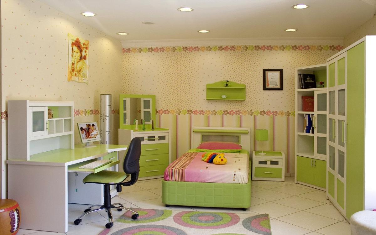 Фото дизайн детской комнаты для девочки подростка