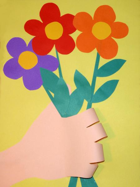 Как сделать подарок маме на 8 марта своими руками из бумаги фото