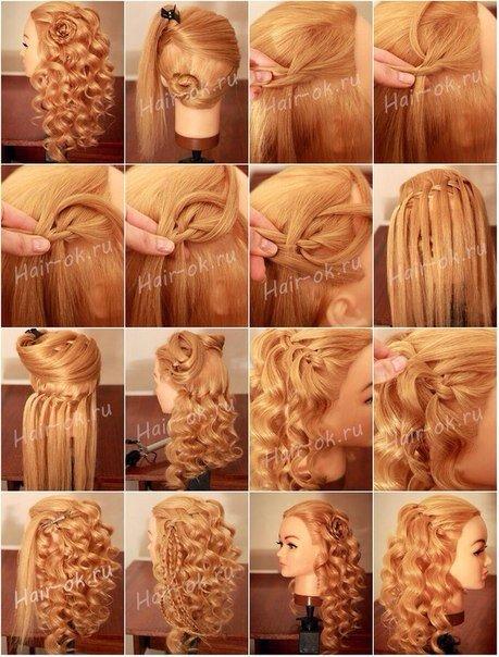 Причёски на длинные волосы в домашних условиях своими руками кудри