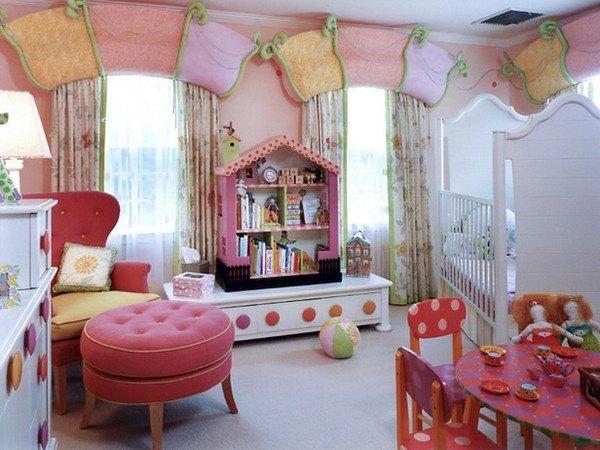 Оформить детскую комнату для девочек своими руками 48