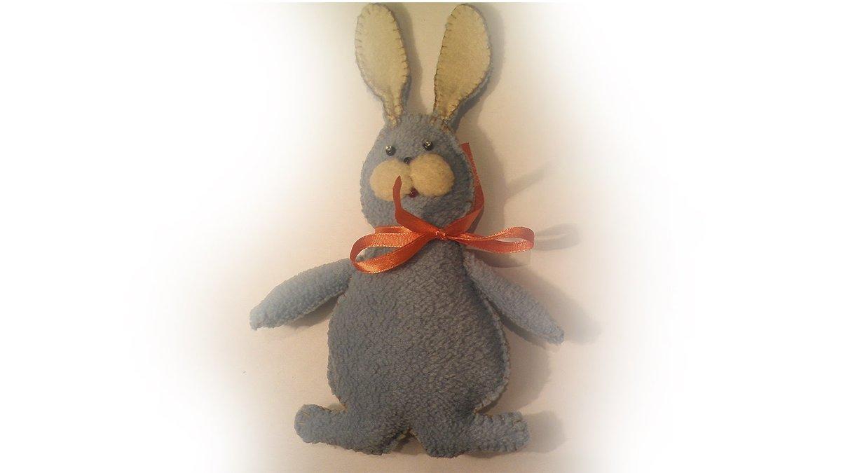 Заяц мягкая игрушка своими руками 25
