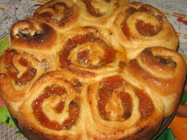 Дрожжевые пирожки с вареньем в духовке пошаговый рецепт