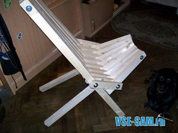 Сделай сам своими руками раскладное кресло