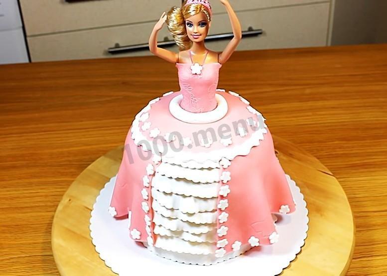 Как сделать торт куклу в домашних условиях