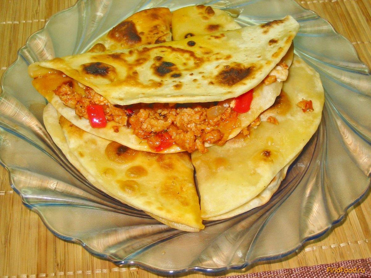 Кесадилья с рецепт пошагово