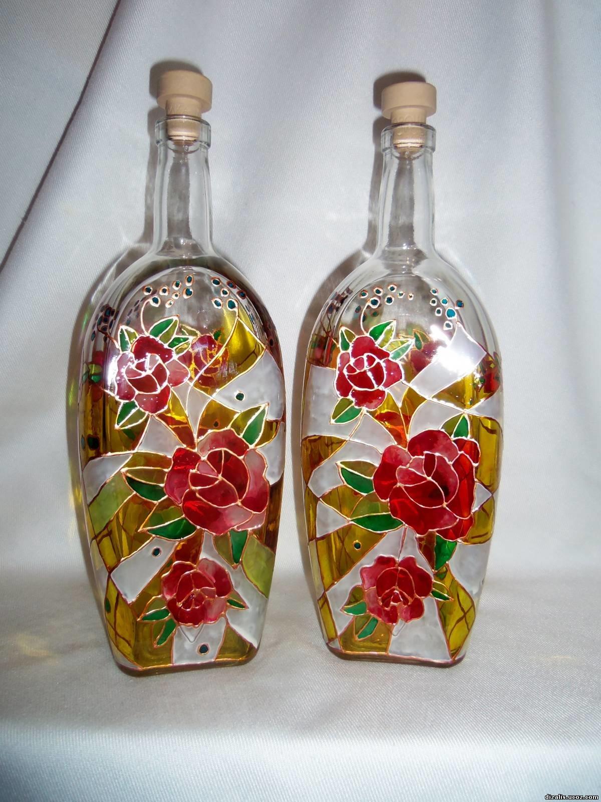 113 идей для поделок из стеклянных бутылок своими руками на фото 36