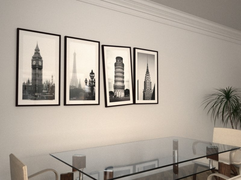 Черно белые картины для интерьера фото стильные