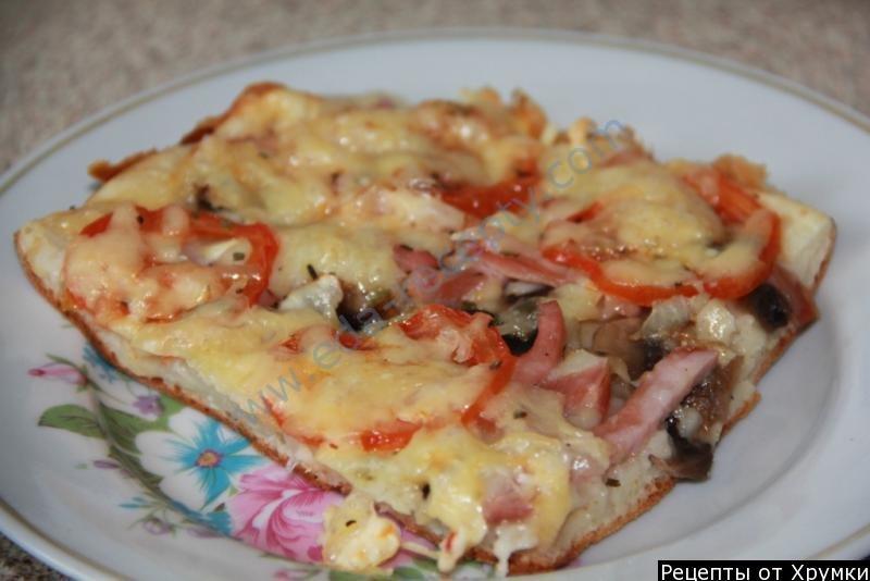 Пицца с жидким тестом в мультиварке рецепты