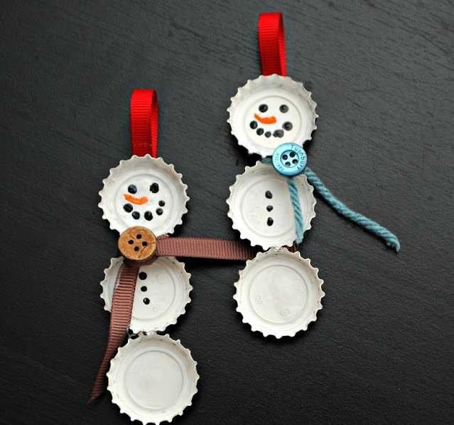 На новый год принято украшать елку. Это можно сделать, используя купленные игрушки, или игрушки, сделанные своими руками. А из к