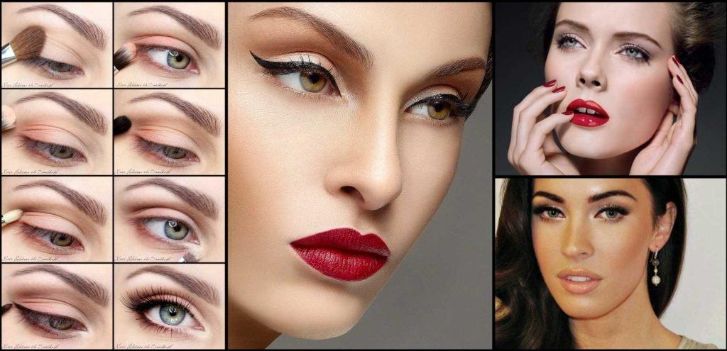 Как сделать макияж для девушки 134