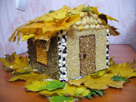 Домашние поделки осень