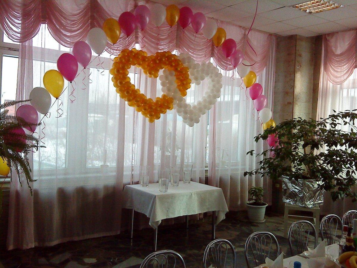 Как украсить зал на шарами своими руками 816