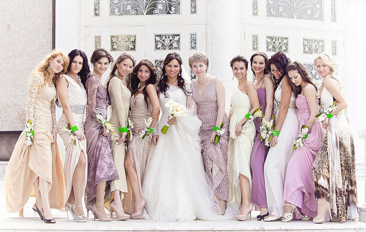 Что одеть когда пригласили на свадьбу