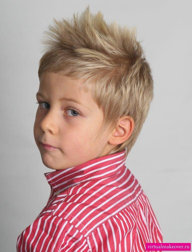 Фото причесок на мальчика