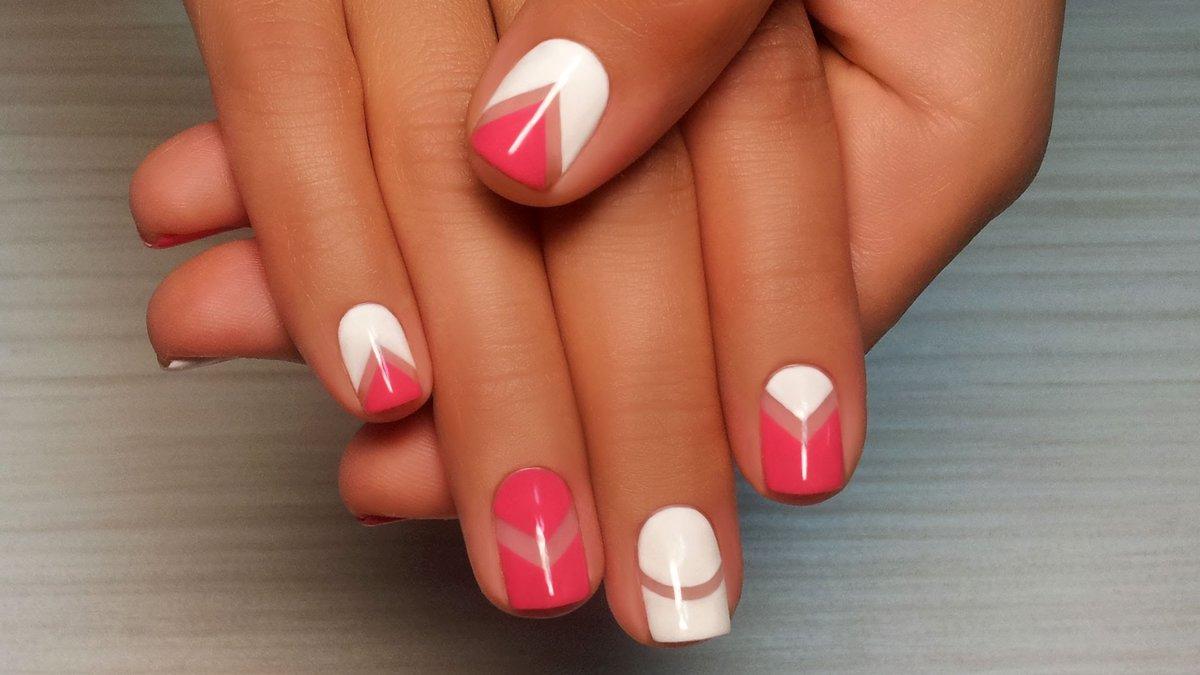 Простой дизайн ногтей гель-лаком для начинающих (40 фото) 4