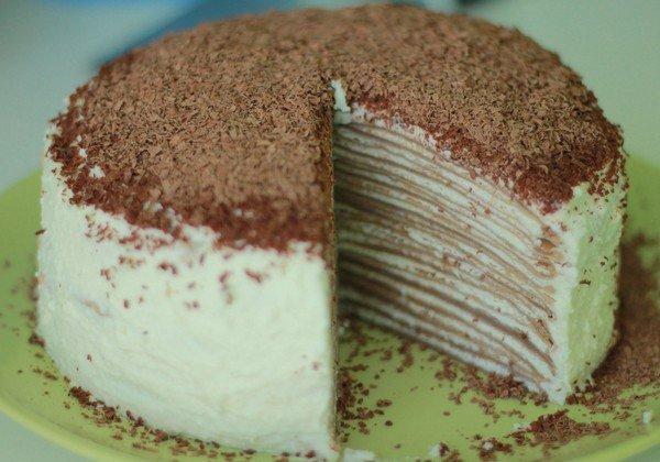 Как сделать блинный торт с медом