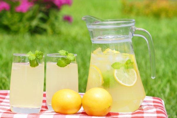 Лимонад с лимоном и мятой в домашних условиях