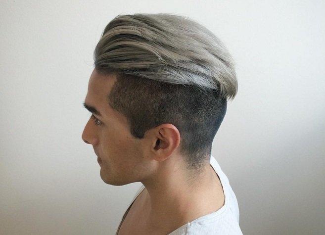 Парень пепельный цвет волос