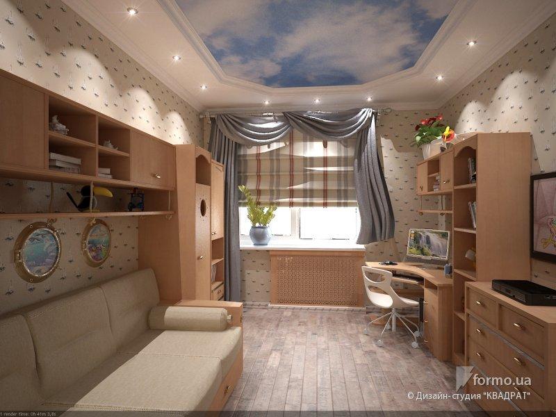 Дизайн комнаты на 20 квадратов