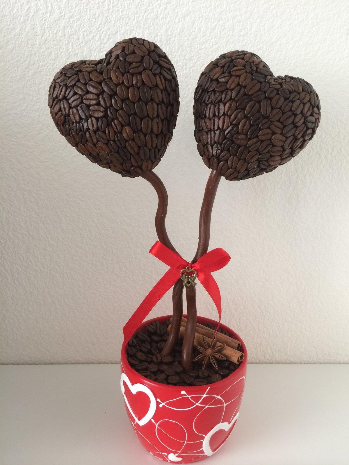 Дерево счастья в форме сердца своими руками