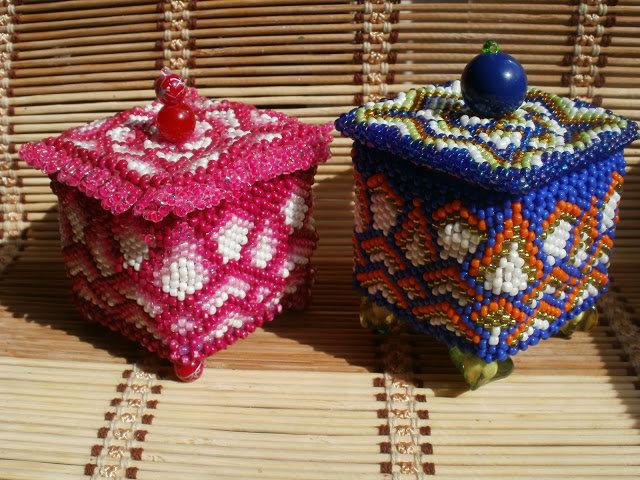 Шкатулки из бисера своими руками фото 95