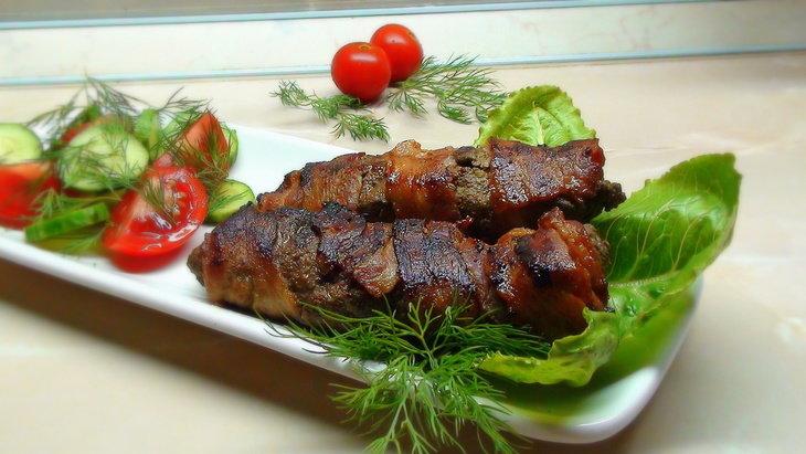 Рецепты горячих блюд из говяжьей печени