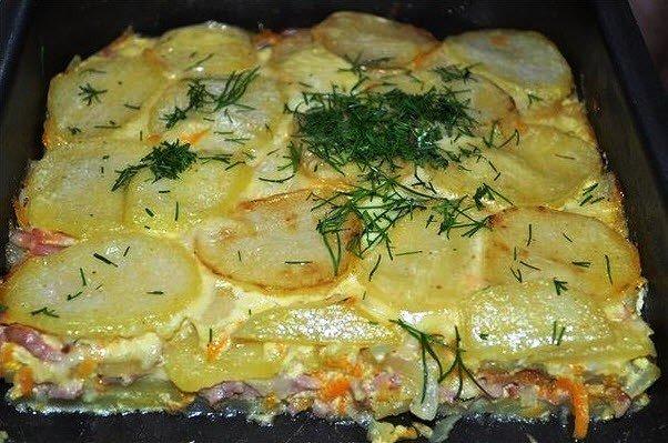 Блюда из картошки рецепты с фото простые и вкусные в мультиварке