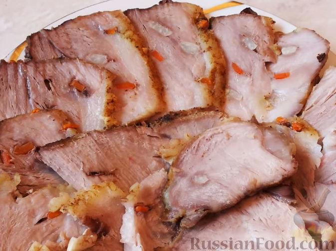Лопатка свиная в домашних условиях