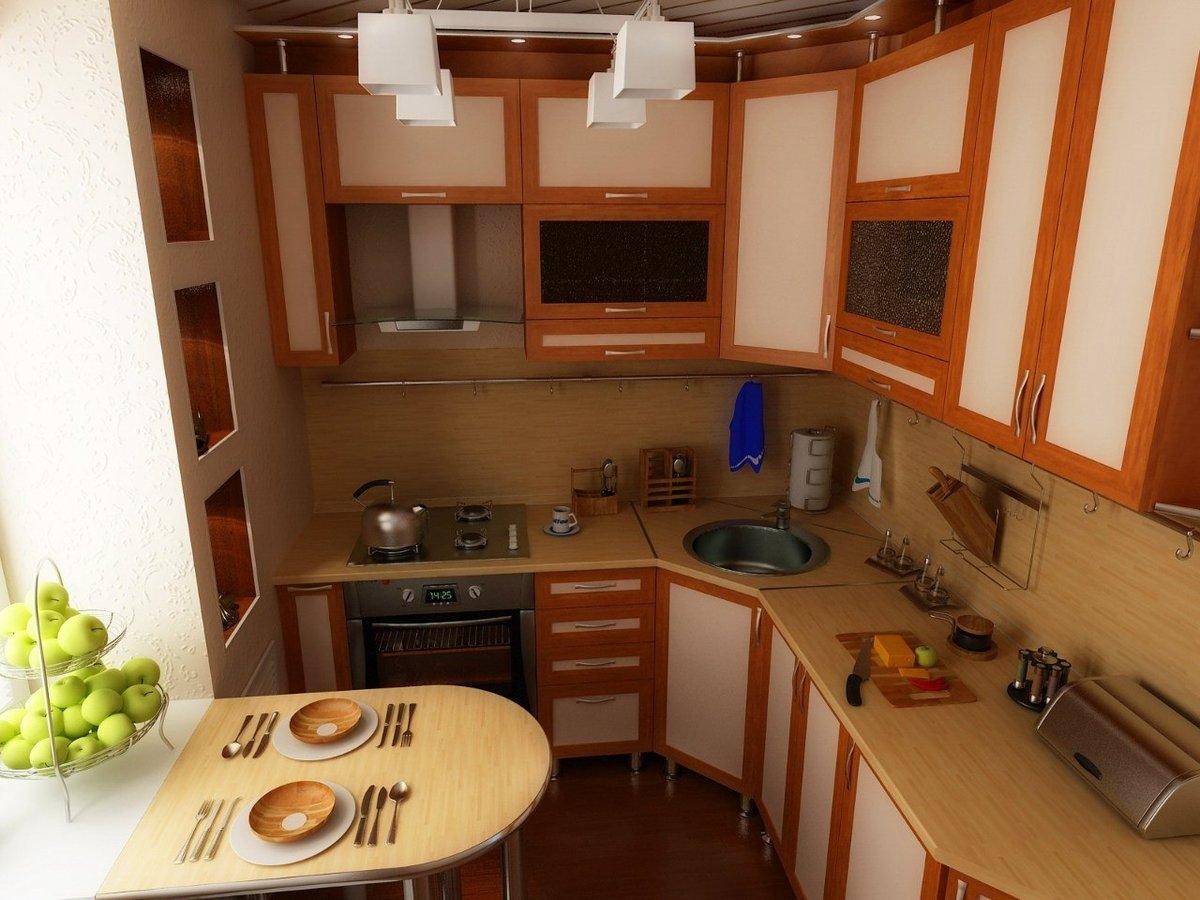 Как из большой кухни сделать еще и гостиную 771