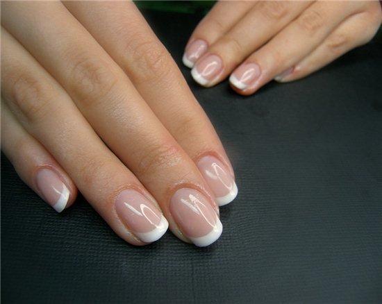 Нарощенные ногти не длинные