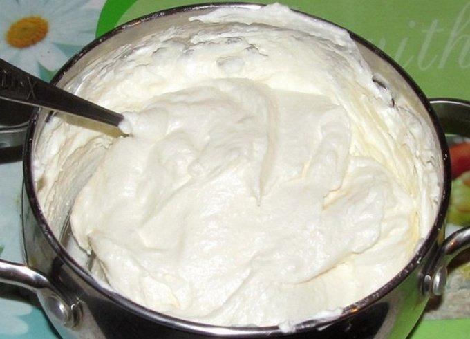 Рецепт с фото творожного крема