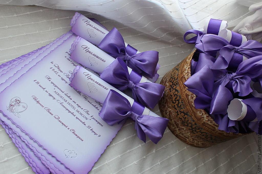 Свадьба приглашения своими руками