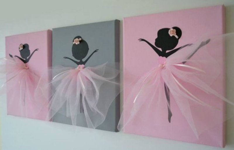 Балерина открытка своими руками