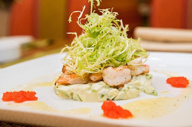 Рецепты салатов для ресторанов с