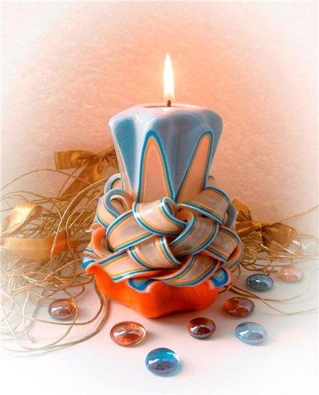 Изготовление свечей из в домашних условиях