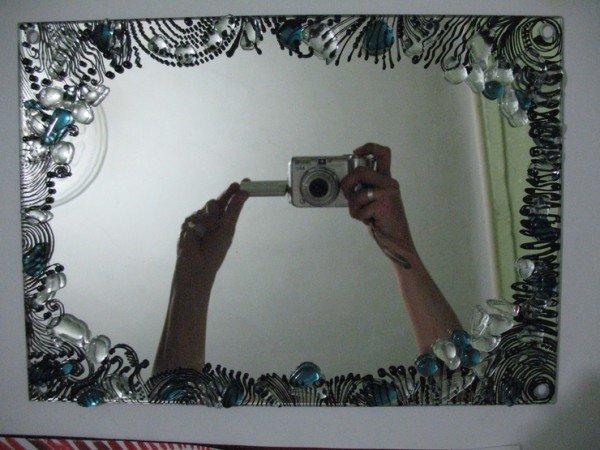 Как сделать своими руками рисунок на зеркале