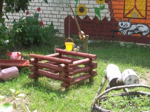 Идеи для детского сада для площадки своими руками 16
