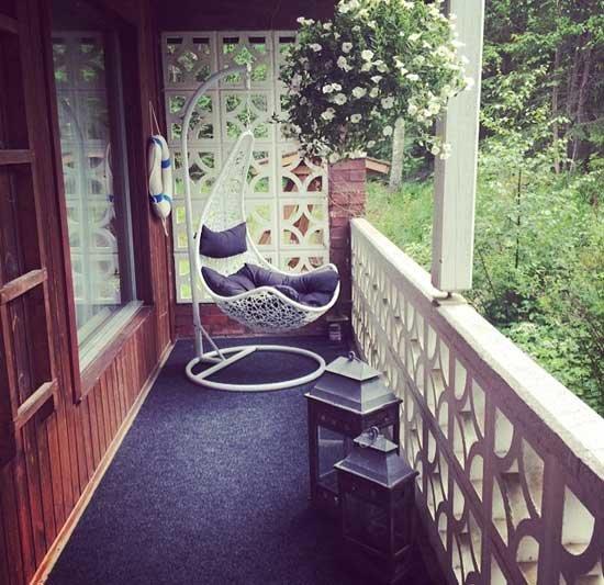 Дизайн балконов открытых
