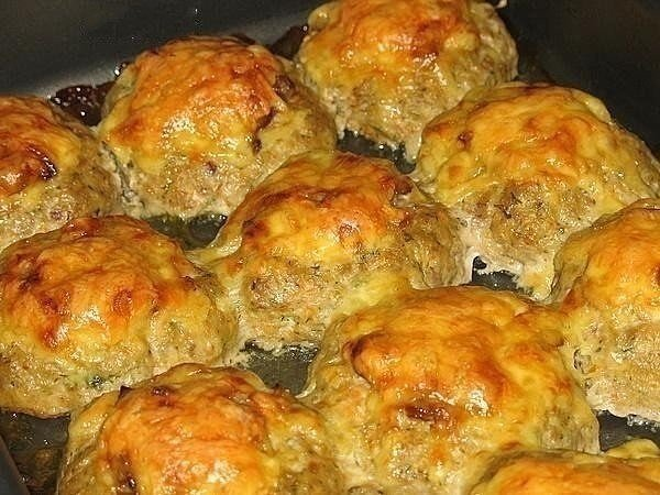 Рецепты куриных котлет с сыром в духовке с фото