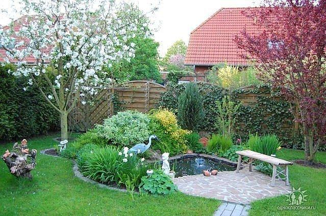 Уютные уголки в саду своими руками фото 43