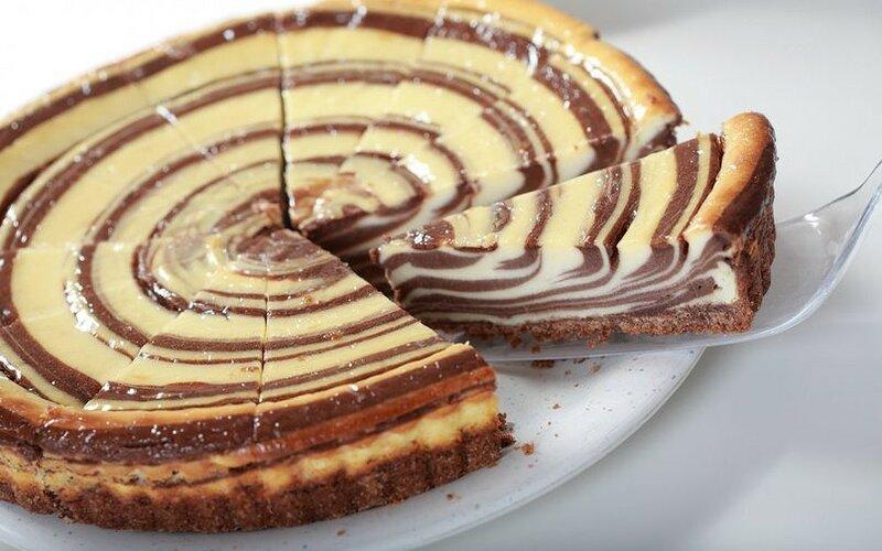 Самый вкусный торта зебра